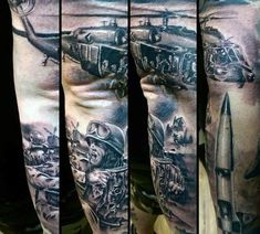 Dodge the rain of heavy machine gun fire with these top 101 best military tattoos. Explore memorial tribute designs and soldiers battling in war. Army Tattoos, Military Tattoos, Mini Pizzas, Sleeve Tattoos For Women, Arm Tattoos For Guys, Tattoo Sleeves, Creative Tattoos, Unique Tattoos, Disney Tim Burton