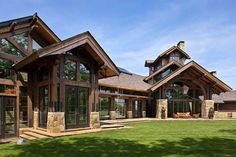 1000 ideas about timber frame houses on pinterest timber frames two story houses and rustic - The wing house maison ailee en australie ...