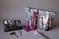 Retro.Frischling: Kosmetiktasche und Schlüsseletui