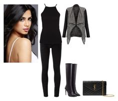 """""""Isabella Lightwood"""" by charmedgreys ❤ liked on Polyvore featuring Golden Goose, NLY Trend, Ralph Lauren Collection and Yves Saint Laurent"""