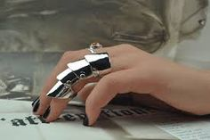 Image result for vivienne westwood silver armour ring