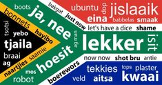 Language only South Africans will understand | FinGlobal