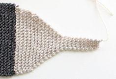 Gina Michele: Fox Scarf [knitting pattern- women & child sizes]