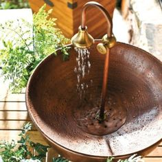 Copper Tabletop Fountain | Ballard Designs