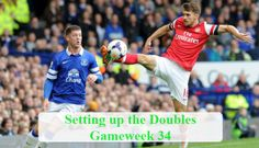 Aaron Ramsey Double Gameweek 34 tips Fantasy Football, Fifa World Cup, Premier League, Baseball Cards, Tips, Sports, Sport