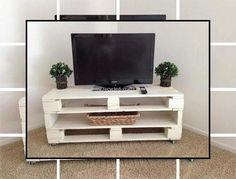Building Furniture Out Of Pallets Tv Pallet, Rack Pallet, Pallet Tv Stands, Wood Pallets, Pallet Ideas, Pallet Art, Diy Home Furniture, Diy Pallet Furniture, Living Room Furniture