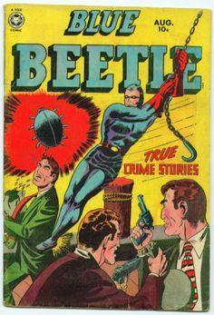 Blue Beetle 60 golden age comic