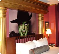 Wicked Suite at the Serrano Hotel ~ I seriously cry whenever I see pictures of this place. :'D