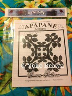 "Hawaiian quilt pattern ""Guava"" 20 inch x 20 inch(Etsy のApapaneHawaiianQuiltより) https://www.etsy.com/jp/listing/156321486/hawaiian-quilt-pattern-guava-20-inch-x"