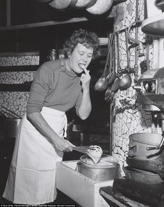 Child, Like You've Never Seen Her Before Julia Child in a tube top, people.Julia Child in a tube top, people. Julia Child Photo, Chefs, Braised Greens, Time In France, Nice France, Rachel Ray, Decadent Chocolate, Chocolate Desserts, Chocolate Cake