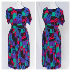 80s Christian Dior Separates Floral  & by MothersGardenVintage