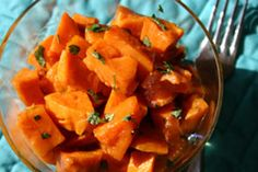 Mexican Roasted Sweet Potatoes: Christmas Eve 2013