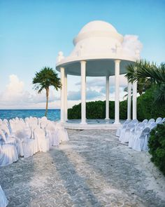 There's something about celebrating in a faraway land that makes it seem like even more of a magical experience #RivieraMara #DestinationWedding