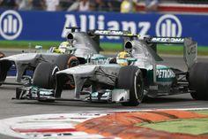 2013 Italian Grand Prix #MercedesAMG #MercedesBenz #FormulaOne #Monza #LewisHamilton #NicoRosberg