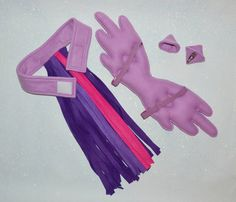 My Little Pony Costume Tail Choose your own by SugarTartCrafts
