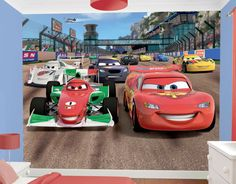 About Cars Wallpaper Mural Skillful With Disney Lightning Mcqueen Bernoulli  Wall Photo Part 69
