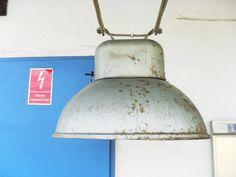 Wielka lampa przemysłowa do LOFTu lub warsztatu!!!