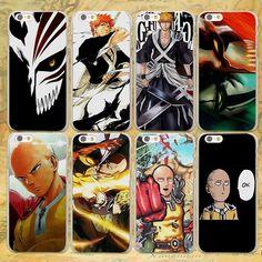 One Punch Man & Bleach iPhone Cases - FREE Shipping Worldwide!!    #anime #manga #otaku #nakamastore.com #animegoods #animeproducts #cosplay