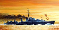 1941 HMS Eskimo (Tribal Class DD)