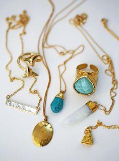 golden goodies all day everyday! #keijewelry