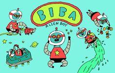 BIBA - the alien boy.
