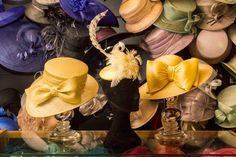 ALISON TOD Couture Milliner   #Yellow #Spring #Fashion