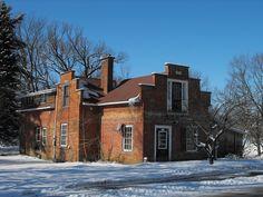 Old house in Stanbridge East, Quebec  1817