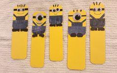 DIY Minions Bookmarks