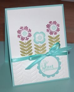 Madison Avenue flowers, sale-a-bration stamp set, designed by Michelle Sturgeon.