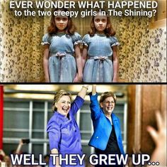 Hillary & Elizabeth grew up