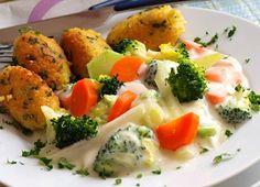 Recept na Zeleninové ragú a jáhlové krokety