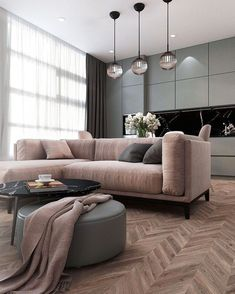 A room should never allow the eye to settle in one place. It should smile at you and create fantasy home decor decoration salon decoration interieur maison Living Room Grey, Living Room Interior, Home Living Room, Apartment Living, Home Interior Design, Living Room Designs, Living Room Decor, Neutral Living Rooms, Gray Interior