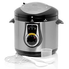 Wolfgang Puck Bistro Elite 7qt Electric Pressure Cooker at HSN.com. - Just got one...looking for recipes!