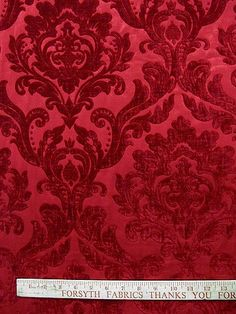 NEIMAN RED #red-pink-purple #woven-fabrics