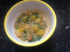 Potatoes and okra medley recipe for baby weaning