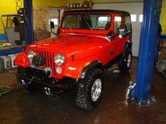 cj7 jeep -love them