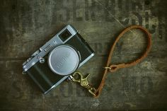 Image of Leather Camera Leash by The CLAW
