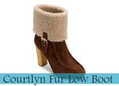 Rockport Courtlyn Fur Low Boot