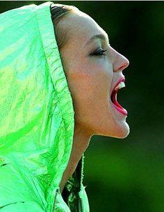 Vogue Paris - Impulsion Fluo  Sasha Pivovarova  Hans Feurer - Photographer  Marie Chaix - Fashion Editor/Stylist  Ward Stegerhoek - Hair Stylist  Lisa Houghton - Makeup Artist  Donna D - Manicurist