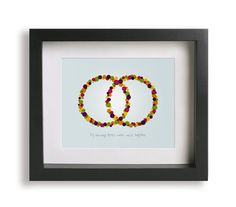 Better Together / Jack Johnson - Song Lyrics Art Print - wedding gift idea, home decor, wedding sign, wall decor, rings, gift idea