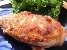 Easy Ranch Chicken-with a little tweaking this could easily be a WW friendly choice. Maybe sub ranch dressing for ranch dressing mix, combine with the breadcrumbs and use egg whites to coat the chicken? Or thin out the ranch dressing with a Tbsp or so of skim milk? Maybe use thin sliced breast for portion control.