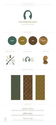 The Sporting Gent Brand Design by Emily McCarthy