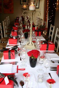 SEXY VALENTINES DINNER RECIPES | valentines dinner table decor | Hanlie Green