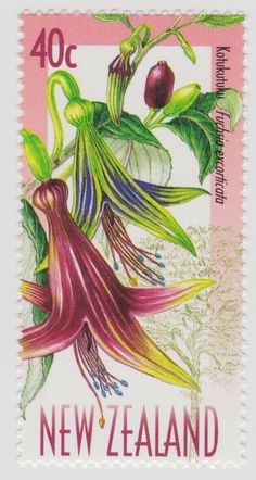 New Zealand has the most beautiful stamps...Alan Jolliffe: NZ Plants on Stamps 1999