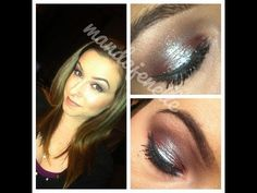 iridescent green and brown eyeshadow tutorial