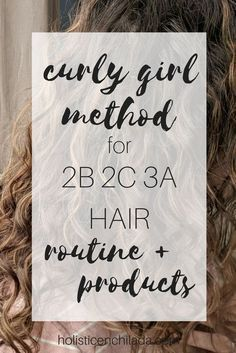 Curly Girl method for 2b 2c 3a hair - How to bring your curls back! CG method, wavy hair, curly hair, natural hair, curly hair routine, wavy hair routine