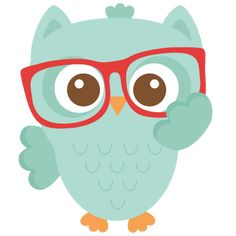 Daily Freebie 1-29-15: Miss Kate Cuttables--Nerdy Owl scrapbook cuts SVG cutting files doodle cut files for scrapbooking clip art clipart doodle cut files for cricut free svg cuts