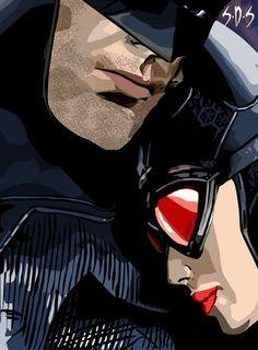 ✧ DC Comics : Batman and Catwoman Batman Love, Im Batman, Batman Art, Catwoman Cosplay, Batman And Catwoman, Batgirl, Comic Books Art, Comic Art, Catwoman Selina Kyle