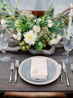 Table Decor | Fresh green wedding ideas www.MadamPaloozaEmporium.com www.facebook.com/MadamPalooza