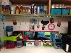 College Dorm room organizations and ideas